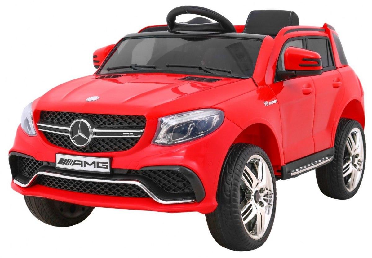 Elektrické autíčko Mercedes AMG GLE 63 - červené