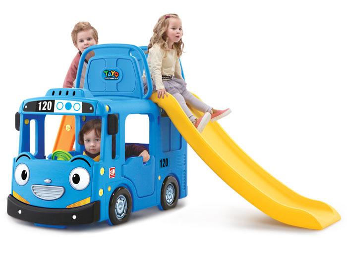 Dětské hřiště autobus 3V1