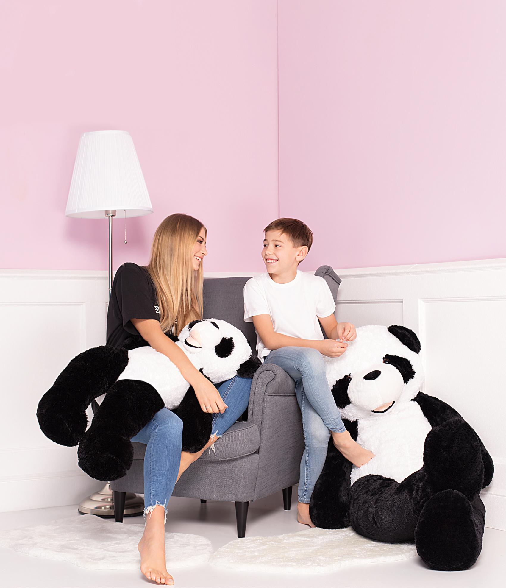 Tomido plyšový medvěd panda XXL 160 cm