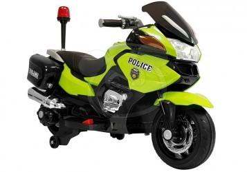 Elektrická cestovní motorka Policie