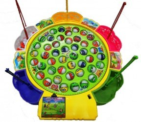 Dětská hra Rybolov - 45 rybiček