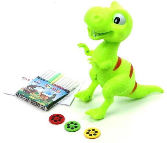 Lampička s projektorem - dinosaurus