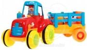 Interaktivní traktor se zvířátky a zvuky