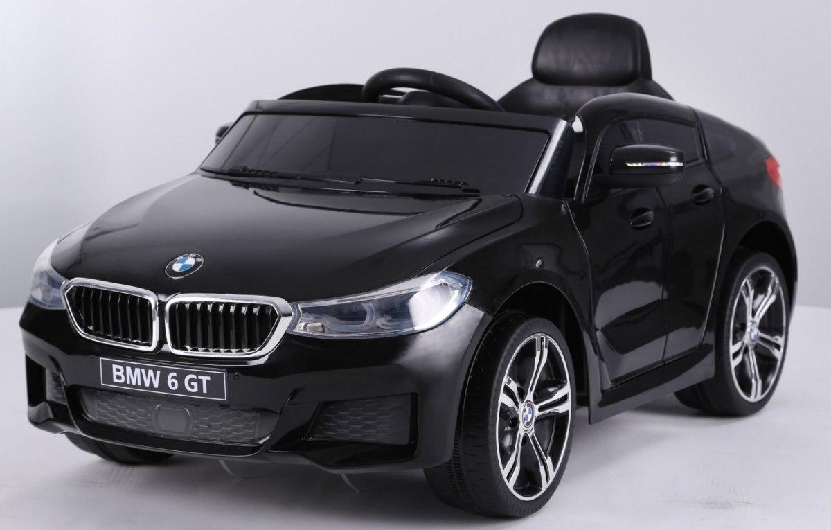 Elektrické autíčko BMW 6 GT - černé