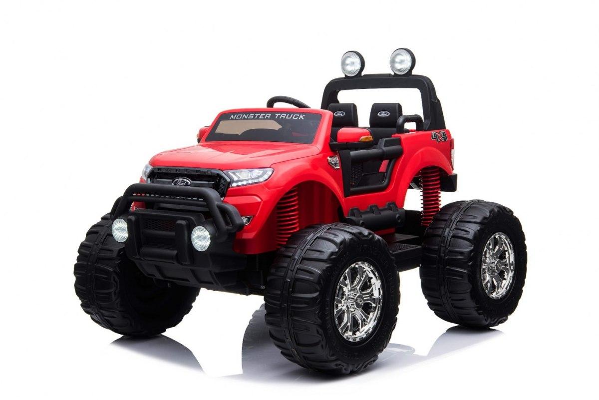 Elektrické autíčko Ford Ranger Monster Truck 4x4 - červené