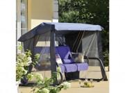 Stříška s moskytiérou na houpačku Rimini / Venezia Antracit PATIO