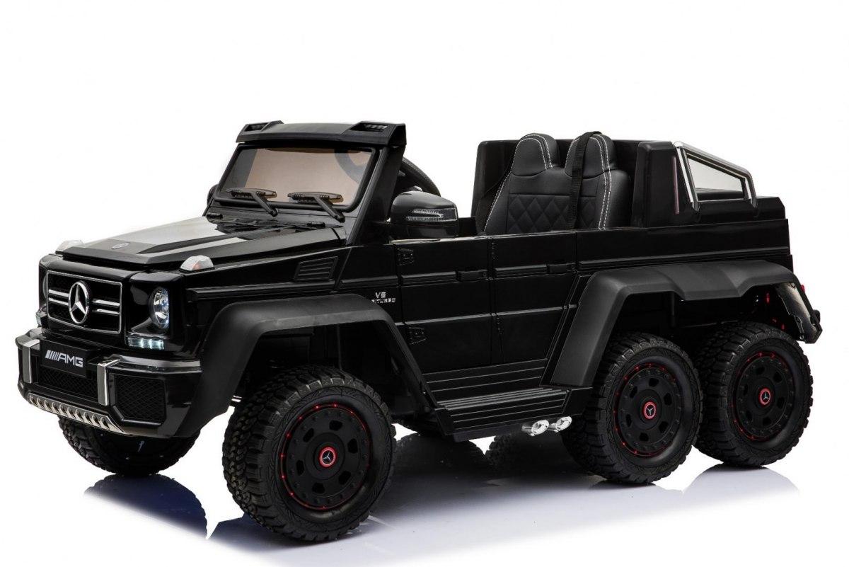 Beneo Elektrické autíčko Mercedes-Benz G63 6X6 - černé