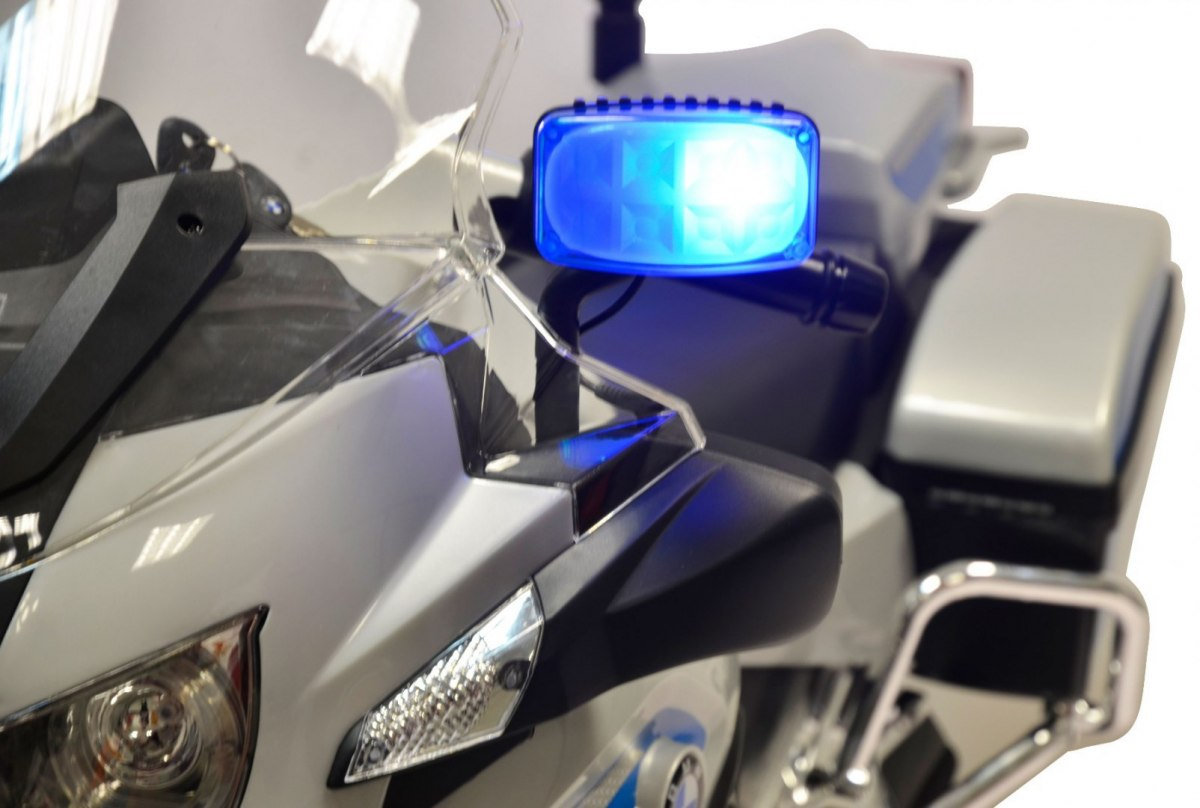 Dětská elektrická motorka BMW Policie