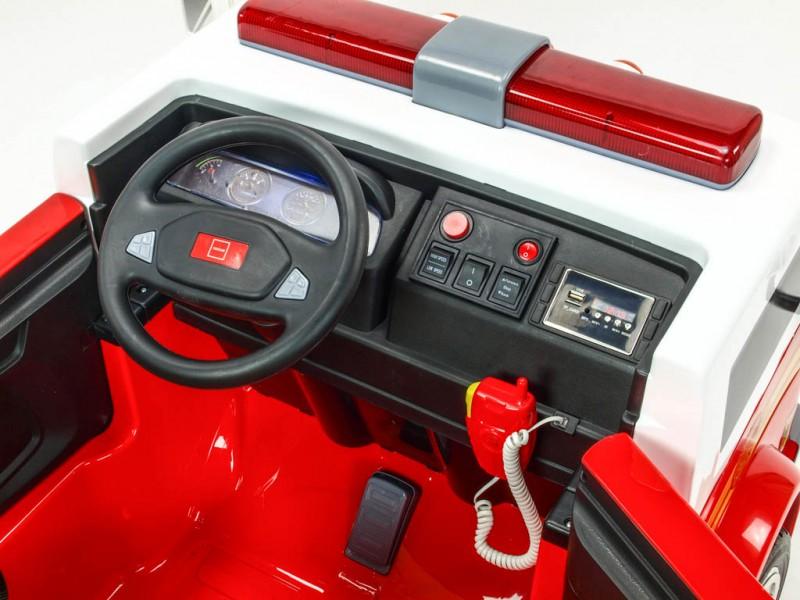 Dětské elektrické autíčko Hasiči