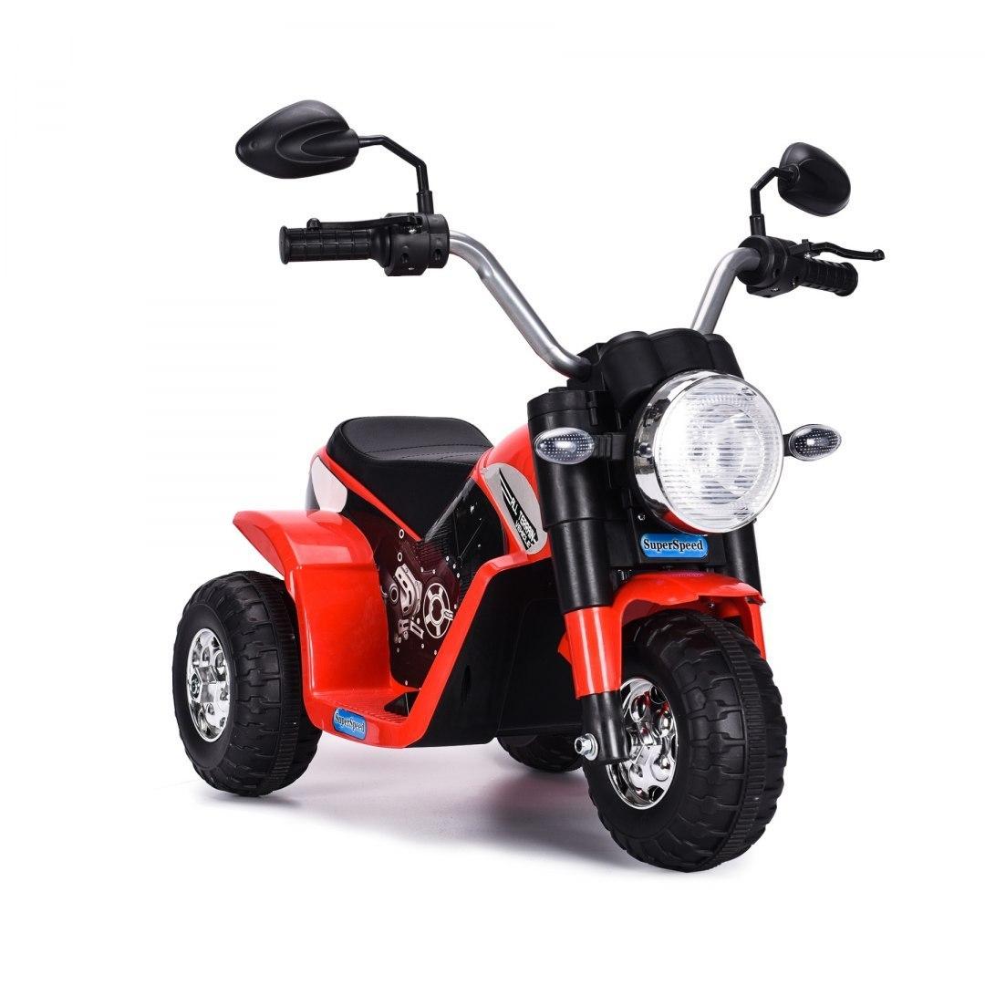 Elektrická motorka MiniBike - červená