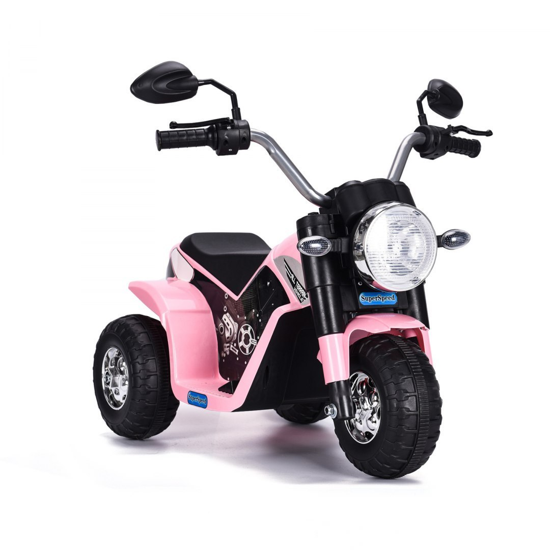 Elektrická motorka MiniBike - růžová