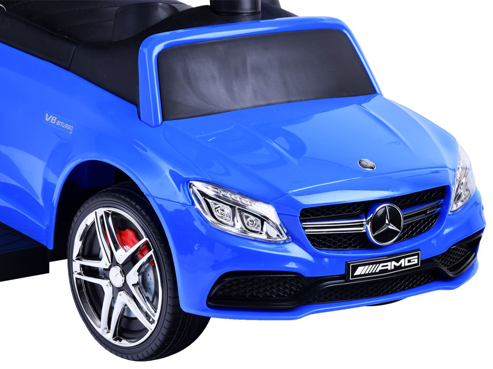 Odrážedlo Mercedes-Benz s vodící tyčí