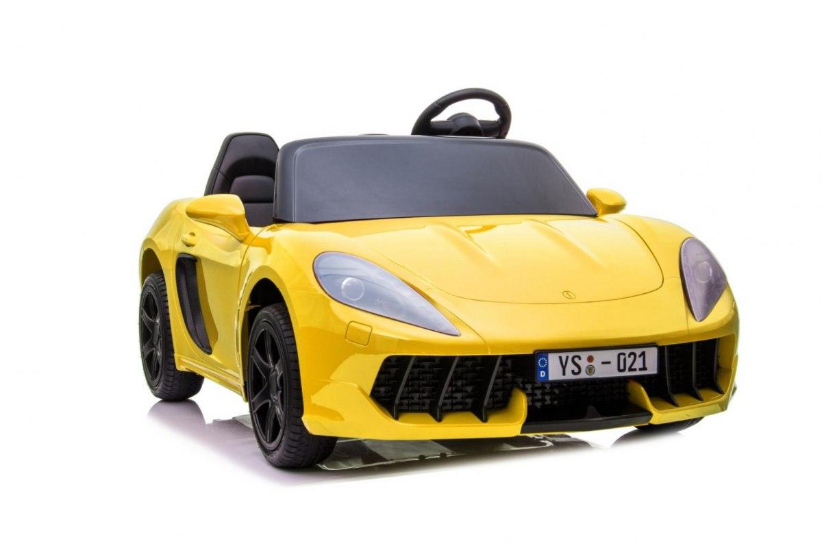 Elektrické autíčko Perfecta - žluté