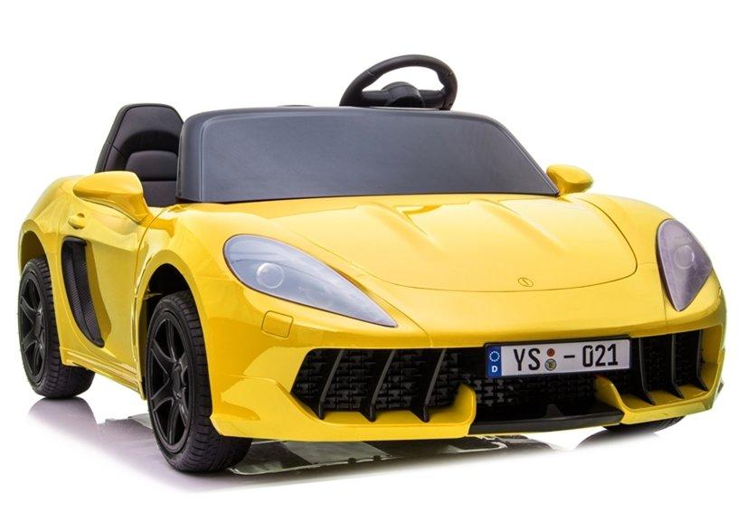 Elektrické autíčko Perfecta - lakované žluté