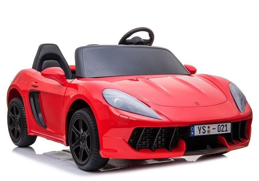 Elektrické autíčko Perfecta - lakované červené