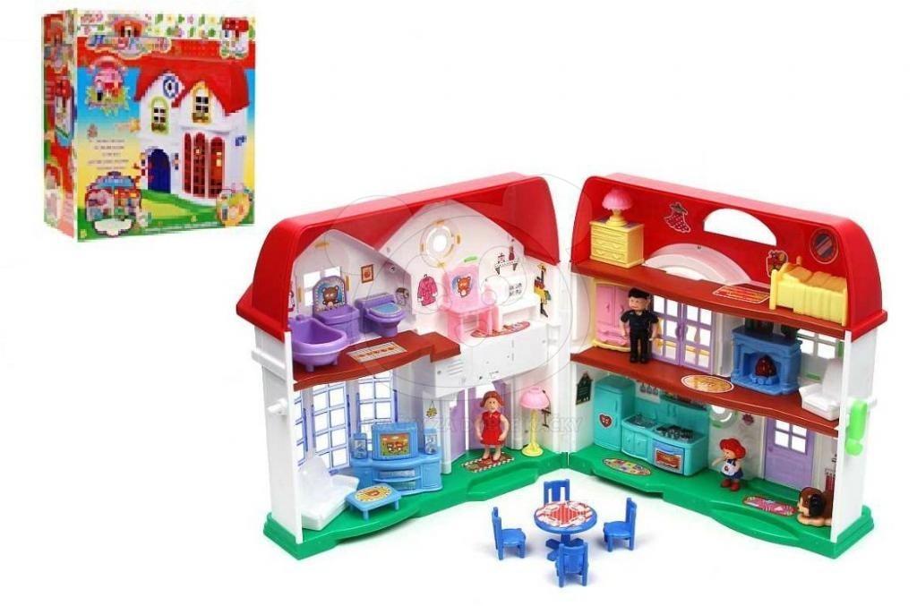 Domeček pro panenky plastový