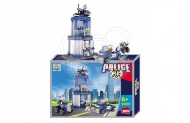 Stavebnice policie 216 dílů