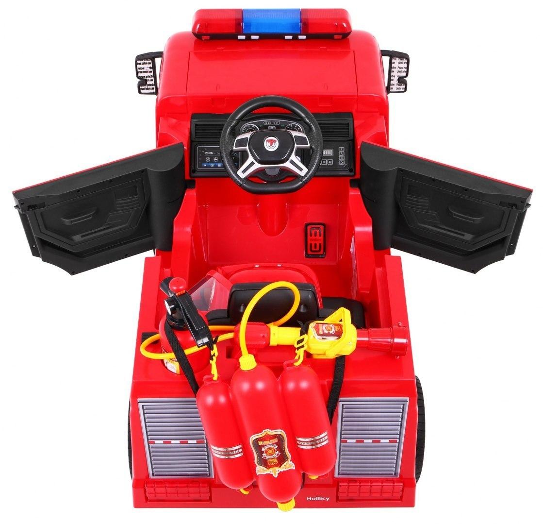 Elektrické autíčko Hasiči