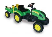 Šlapací traktor Branson s přívěsem