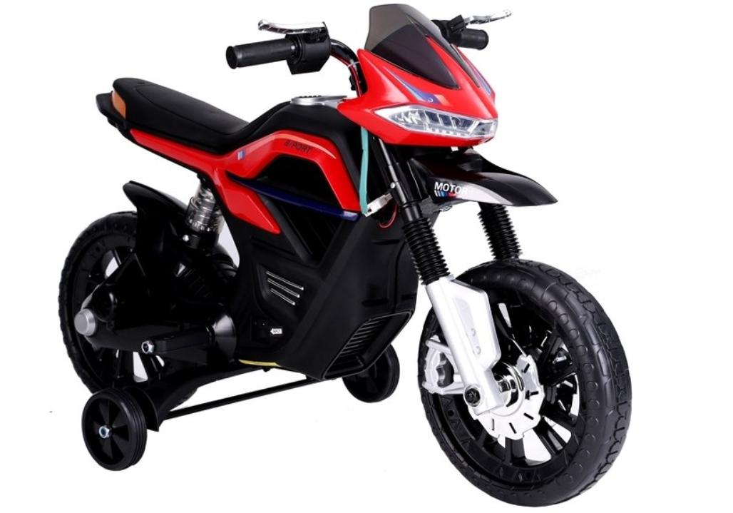 Dětská elektrická motorka JT5158 - červená