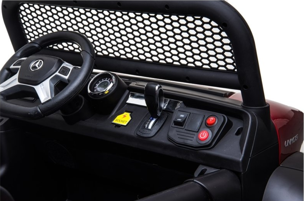 Elektrické autíčko Mercedes Unimog