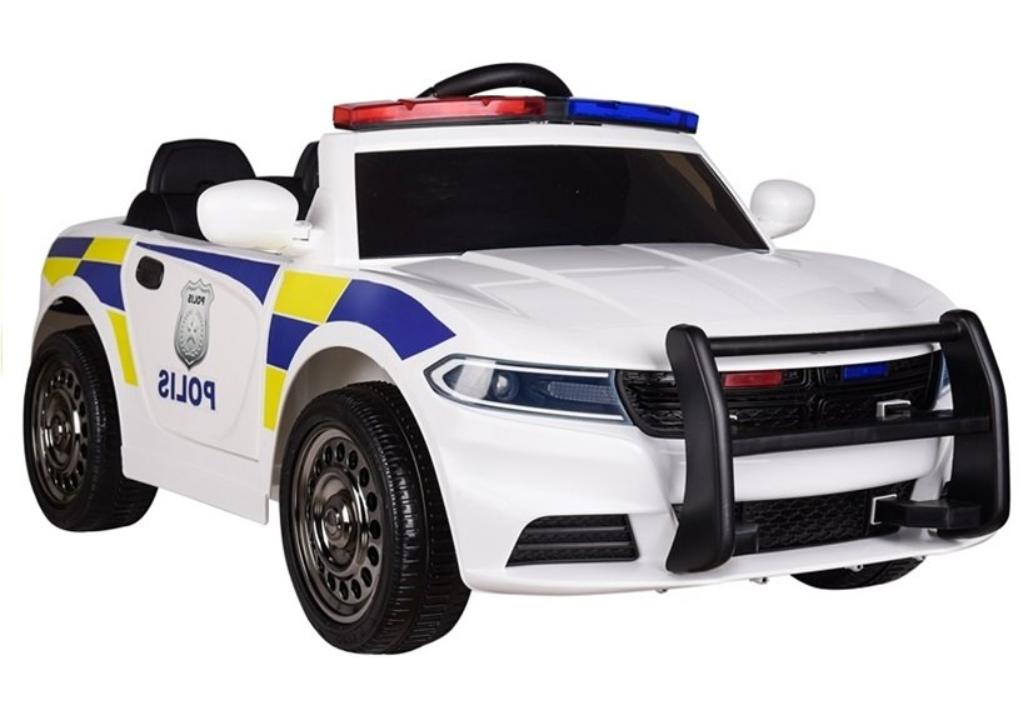 Dětské elektrické autíčko Policie
