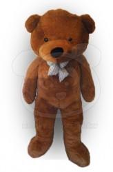 HračkyZaDobréKačky plyšový medvěd 160 cm tmavě hnědý