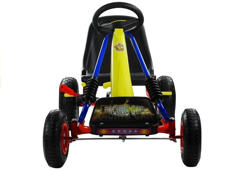 Šlapací čtyřkolka Go-Kart TURBO