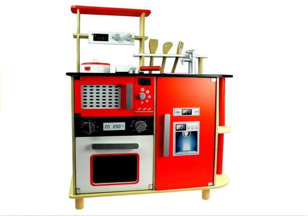 Dřevěná kuchyňka Zuzanka 78 cm s příslušenstvím