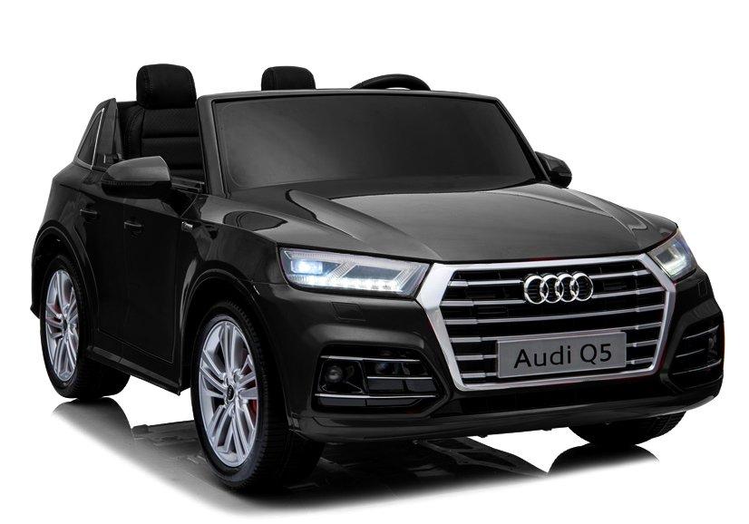 Elektrické autíčko Audi Q5, 2 místné - černé lakované