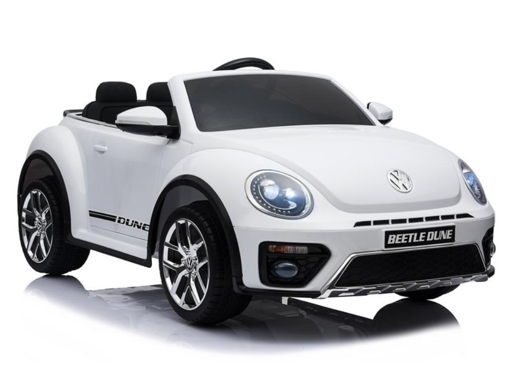 Elektrické autíčko VW Beetle Dune - bílé