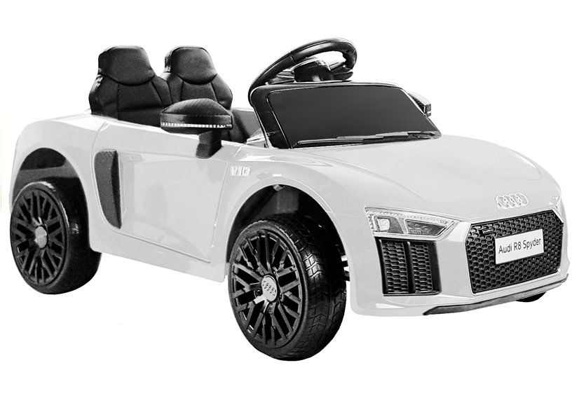 Beneo Elektrické autíčko Audi R8 small - bílé