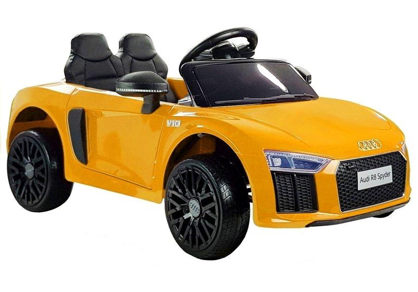 Beneo Elektrické autíčko Audi R8 small - žluté