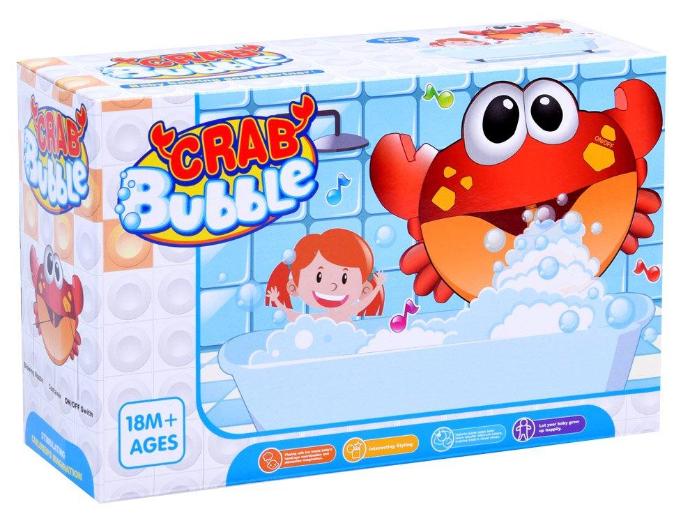 Krab do vany tvořící bubliny