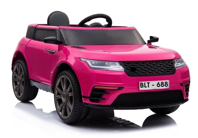 Elektrické autíčko BLT-688 - růžové