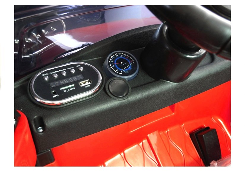 Autíčko Land Rapid Racer, EVA kola, kůže