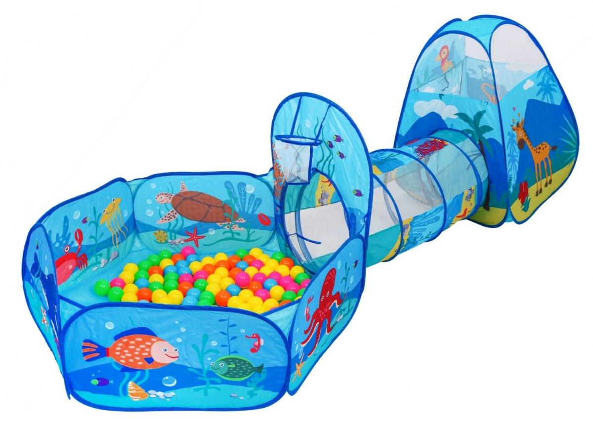 HračkyZaDobréKačky Dětský stan s míčky