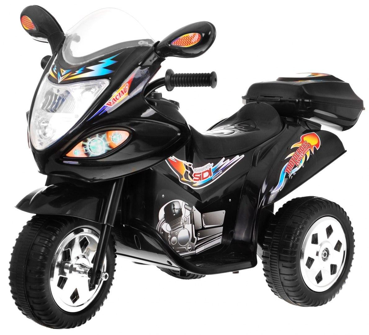 Dětská elektrická motorka BJX-088 - černá