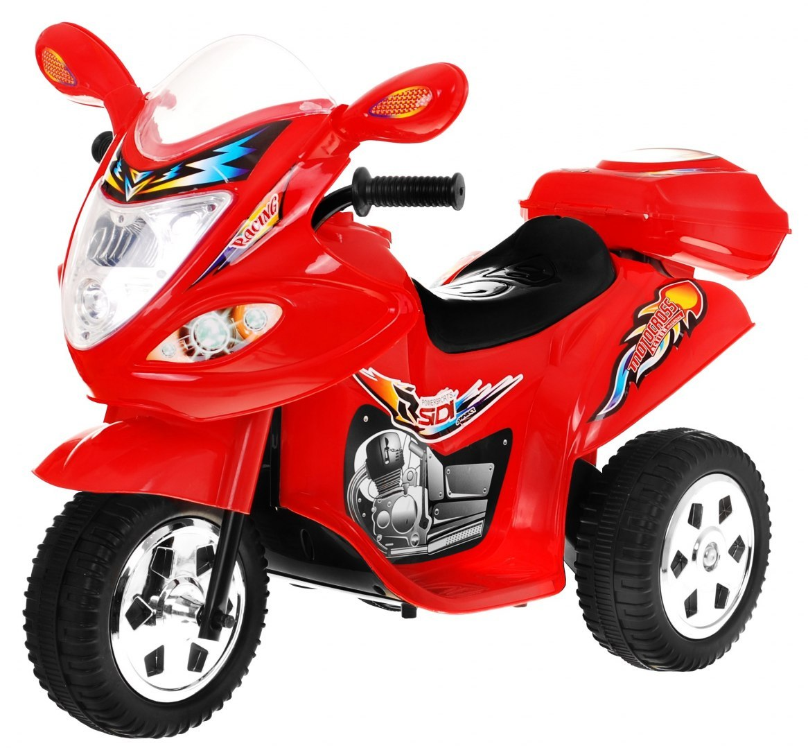 Dětská elektrická motorka BJX-088 - červená