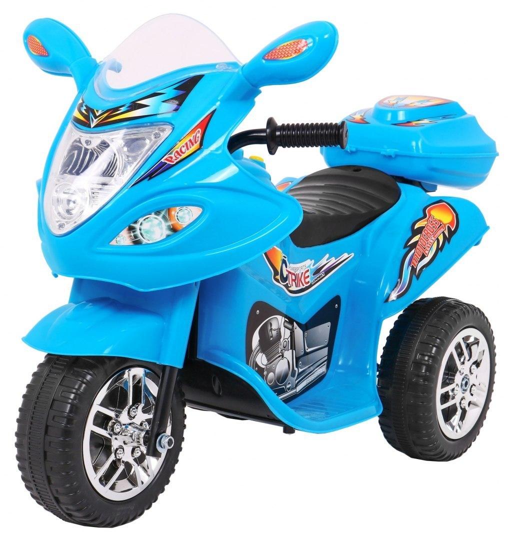 Dětská elektrická motorka BJX-088 - modrá