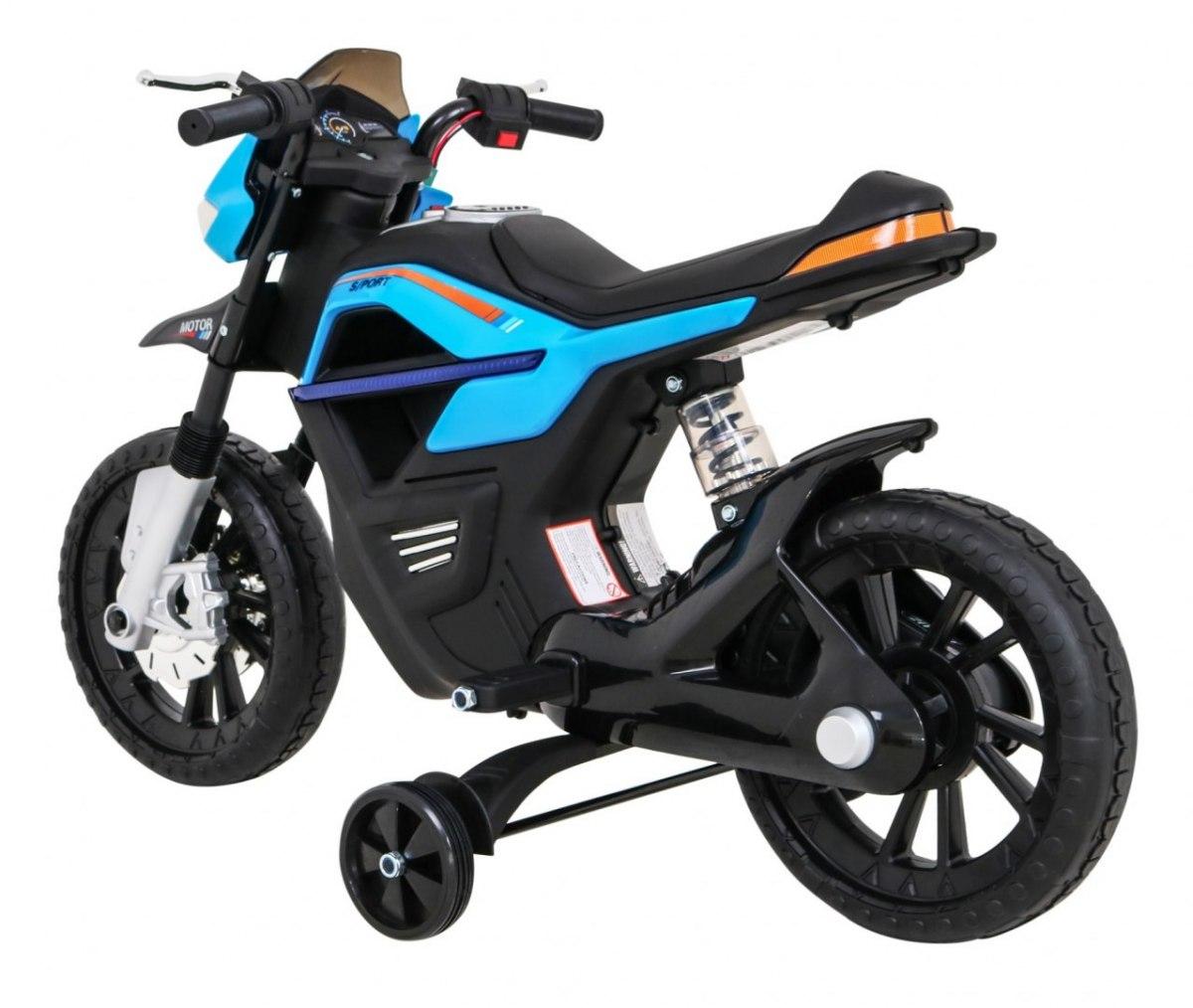Dětská elektrická motorka Night Rider