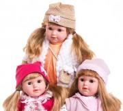 Mluvící a zpívající panenka Emilie, 45 cm