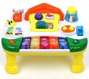 Dětský hrací stolek – farma