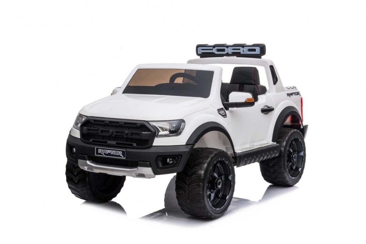 Elektrické autíčko Ford Ranger Raptor - bílé