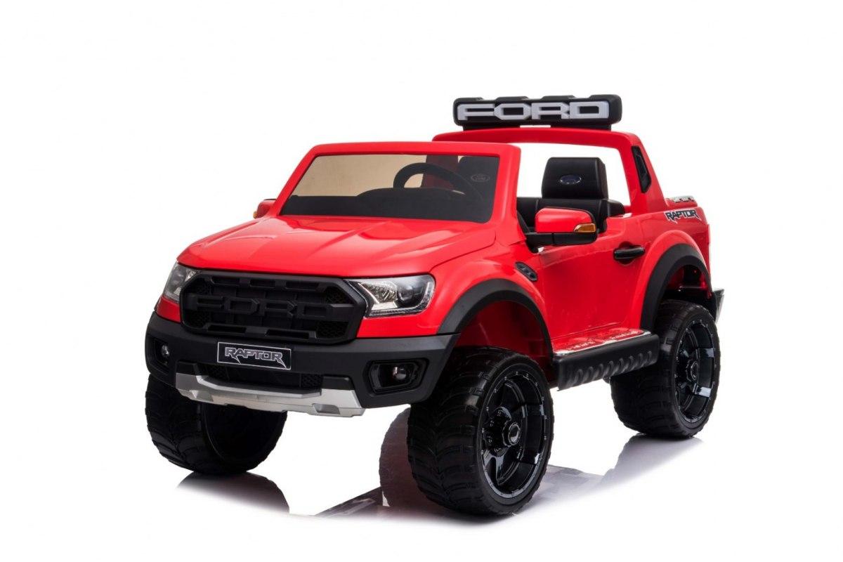 Elektrické autíčko Ford Ranger Raptor - červené