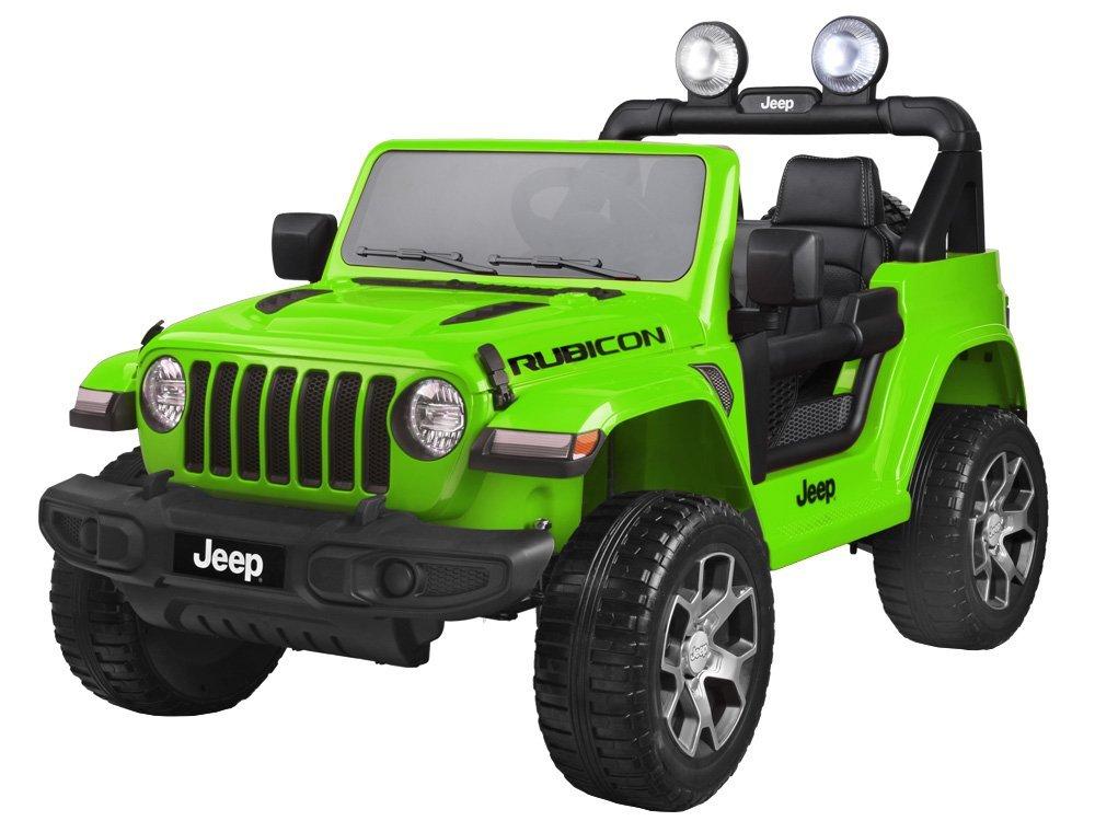 Elektrické autíčko Jeep Wrangler Rubicon - zelené