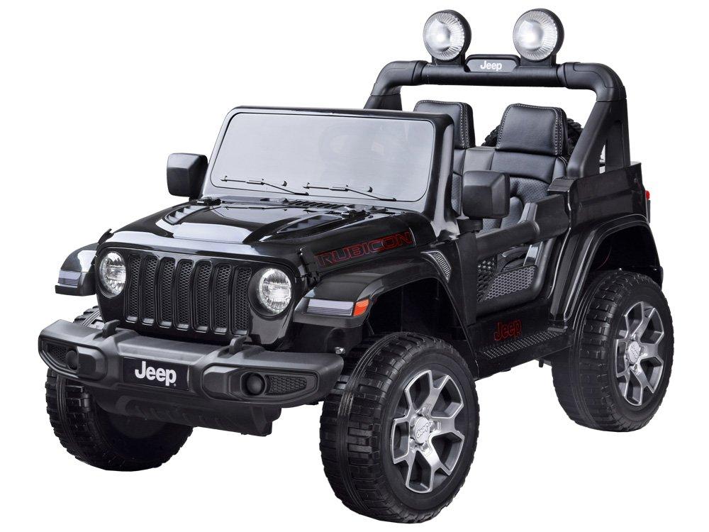 Elektrické autíčko Jeep Wrangler Rubicon - černé