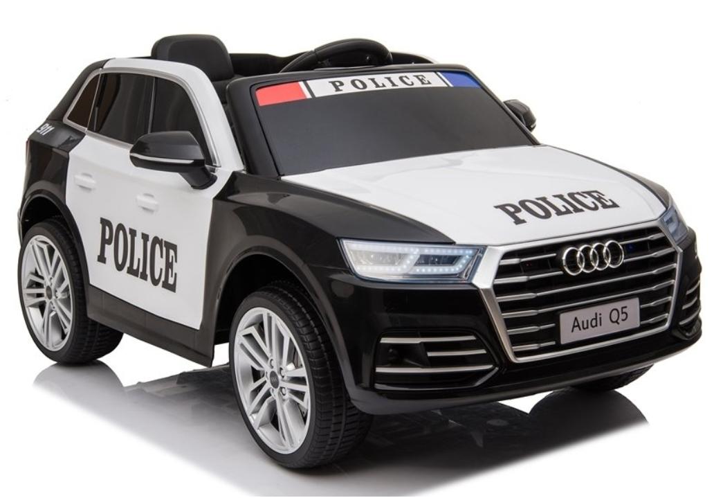 Elektrické autíčko Audi Q5 Policie