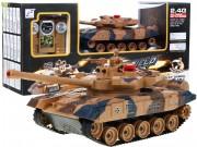 RC Tank T90, zvuk, kouř