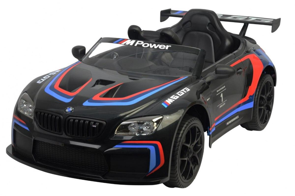 Buddy toys Elektrické autíčko BMW M6 GT3 - černé